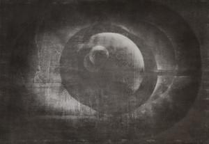"""""""PSR 0012B"""", aquatint, drypoint, mezzotint, 100/70 cm, 2014"""