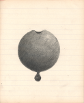 Pencil on paper, 19,5/16 cm, 2013